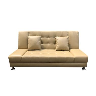 Best Furniture Jelly Sofabed Sofa Ranjang - Krem [Khusus Jabodetabek]