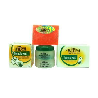 Widya Temulawak Paket Cream Siang & Malam dan Sabun