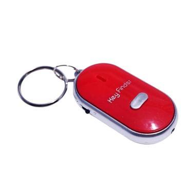 TokoLinggauCom Siul Alarm Gantungan Kunci - Red