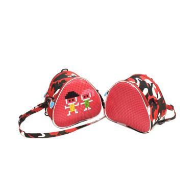 Powa 333 Lego Bag Pixel Ransel Tas Anak - Red 1a062050f0c11