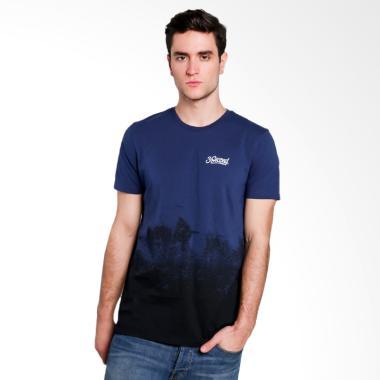 3SECOND Men T-shirt Atasan Pria - Blue 110111712