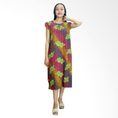 Batik Alhadi RDT006-01E Daster Yukensi Batik Cap Pekalongan Baju Tidur