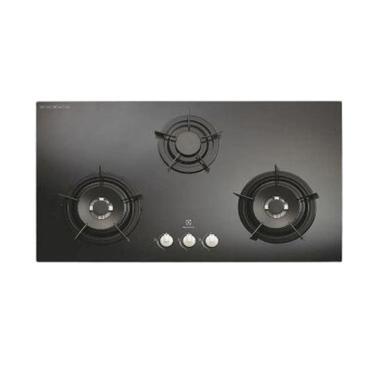 ELECTROLUX EGG-9637EK Kompor Tanam Gas [Kaca Hitam]