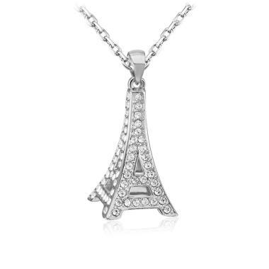 SOXY LKN18KRGPN1078 Fashionable Eiffel Tower Pendant Kalung