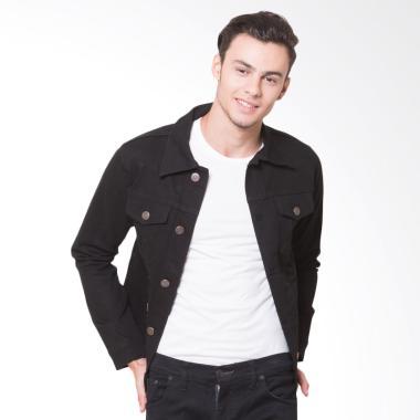 Oliveinch Denim Maximus Jacket Pria - Black
