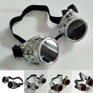 harga Kacamata Goggle Gaya Vintage Retro Gothic Steampunk untuk Pria - Wanita Blibli.com
