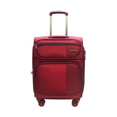 Hush Puppies 693139 Expandable Softcase Kabin Koper - Maroon [20 Inch]