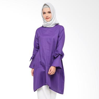 Fey Attire Mora Blouse Wanita - Purple