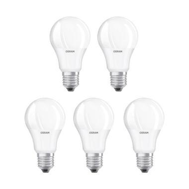 OSRAM LED Lampu Bohlam - Putih [7 W/5 pcs]
