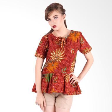 Jual Baju Batik Wanita Dengan Panjang Merah Online - Harga Baru ... a26ee7c783