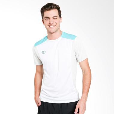 Umbro Pro Training Jersey Baju Olahraga Pria - White [64456U-EMV]