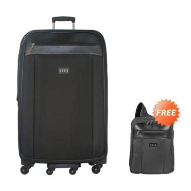 Elle 7206329-42 Tas Koper - Black [29 inch] + Free Backpack Unisex