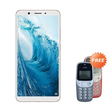 VIVO Y71 Smartphone - Gold + Free Prince PC-5