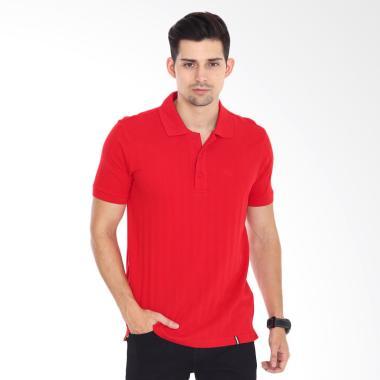 Valentino Polo Shirt Pria - Red