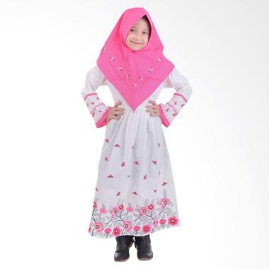 Jesca and Paul Esye 225 Gamis Baju Muslim Anak - White