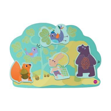 Oribel Hoppy Bunny & Friends Vertiplay Wall Toys Mainan Anak