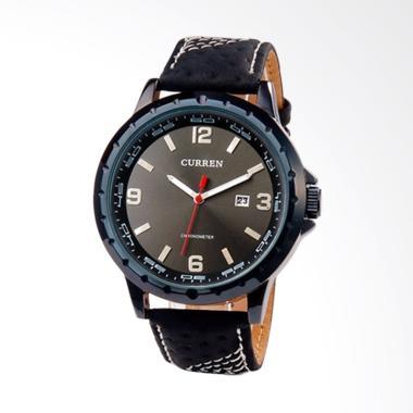 Curren Casual Style Watch Jam Tangan Pria - Black ... 39445d1799