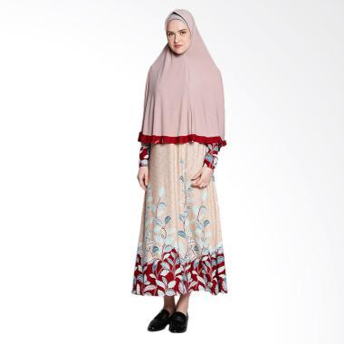 Koesoema Clothing Aisha Gamis Syari dan Hijab - Cream [All Size]