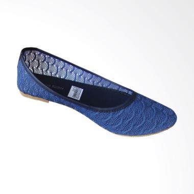 MURAH Rainy Collections Brokat Flat Shoes Wanita - Biru TERKINI ... b776dc0a5b