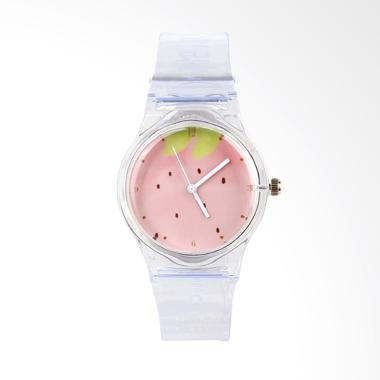 Paroparoshop Fruity Jam Tangan Wanita - Transparent White