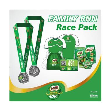 Pre-Order MILO Jakarta International Family Run Race Pack Tiket