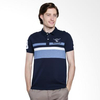 Giordano Napoleon Courage Embroidery Polo Shirt - Navy [0101722015]
