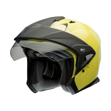 Bell MAG-9 Hi-Viz Helm Half Face - Yellow