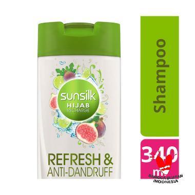 SUNSILK Hijab Refresh & Anti-Dandruff  Shampoo [340 mL]