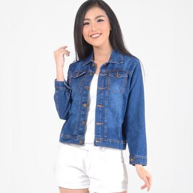 DEcTionS Beautifully Washed Jaket Jeans Wanita