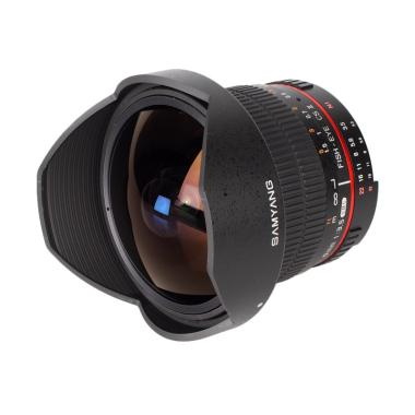 Samyang 8mm F3.5 UMC Fish-Eye CS II Lensa Kamera for Nikon