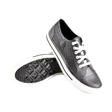 AP BOOTS All Star Karet Sepatu Sneaker Pria - Black fd8299d4b4