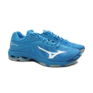 harga Mizuno Wave Lightning 24 Jewel White Hawaiian Ocean Sepatu Voli  - Blue [V1GA180098] Blibli.com