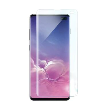 Whitestone DOME Full Adhesive Tempered Glass Screen Protector for Samsung Galaxy S10 Plus