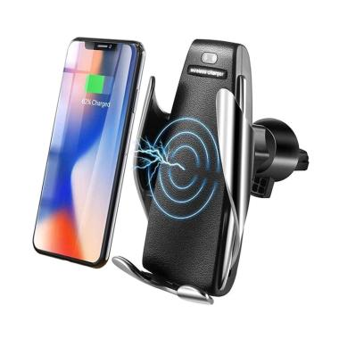 Arcus Car Phone Holder with Wireless Charger and Smart Sensor S5