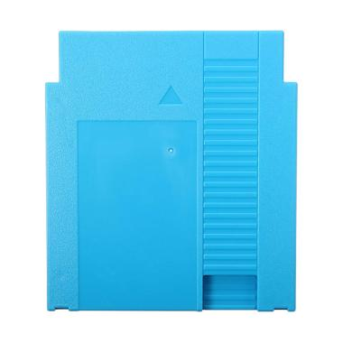 Bluelans 2Pin Hard Protective Game Cartridge Cassette Case Shell Cover for Nintendo NES - Blue