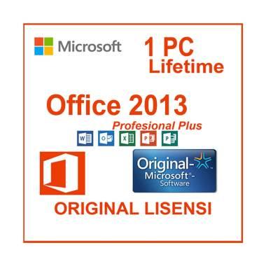 harga Microsoft Office 2013 Profesional Plus Software [32/64bit/ Original Lisensi] Blibli.com