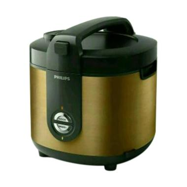 Philips HD3128 Rice Cooker - Gold [2L]