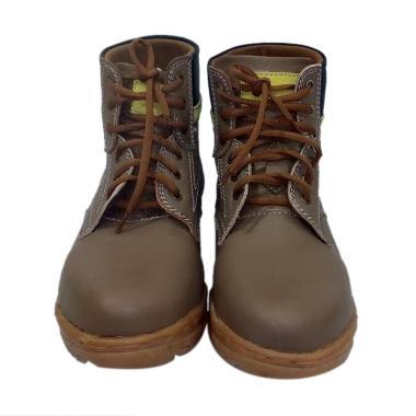 Kalong 006 Men Boots Shoes - Coklat
