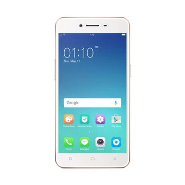 OPPO A 37 Smartphone - Rose Gold [16GB/ 2GB]