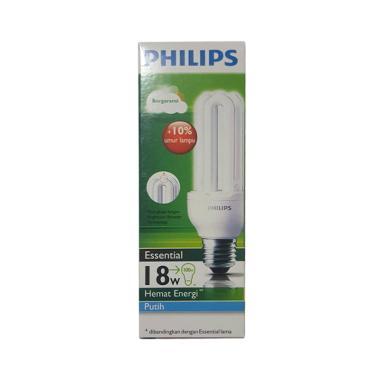 Philips Lampu - Putih [18 Watt]