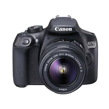 Canon EOS 1300D Kit EF-S 18-55mm IS ... Memory 16GB + Screenguard