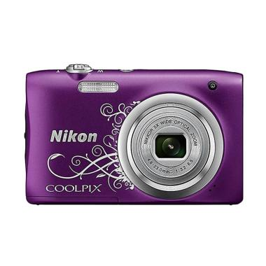 Nikon COOLPIX A100 Kamera Pocket - Purple Tribal
