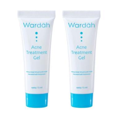 Wardah Acne Treatment Gel [15 mL/ 2 pcs]