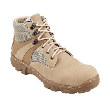 Navara Brian Safety Boots - Cream