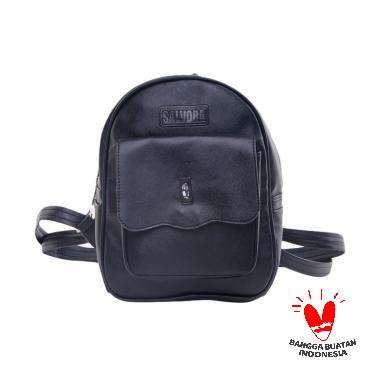Salvora Bags Backpack SV01 Hitam