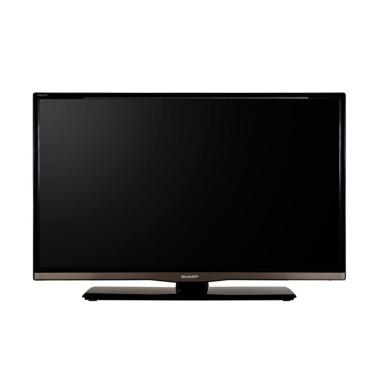 SHARP Aquos LC-32LE260I TV LED - Hitam [32 Inch]