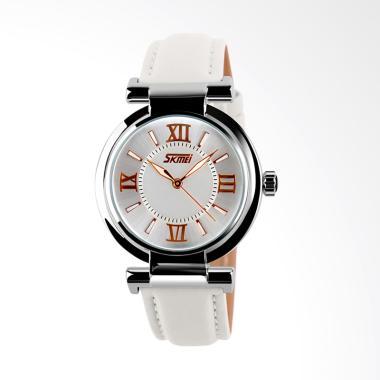 Skmei 9075-E Jam Tangan Wanita - Putih