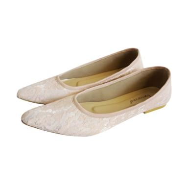 Tamanara Maura Flat Shoes - Peach