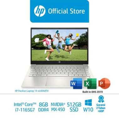 harga HP Pavilion Laptop 14-dv0068TX Laptop Premium (2N1H9PA) /14