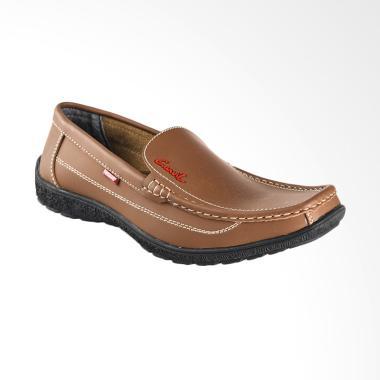 Carvil Mens Casual Shoes Sepatu Pria - Mocca [HS-MAURO]